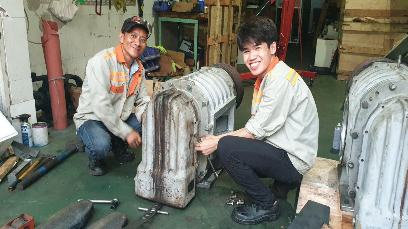 Sửa máy thổi khí Fu-Tsu
